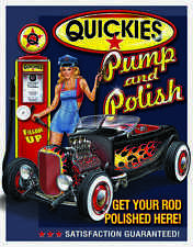 Quickies Pump and Polish Get Your Rod Polished Here #1746 Mancave Garage