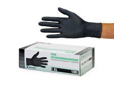 Einweghandschuhe Einmalhandschuhe Nitrilhandschuhe 100 Stück Box Gr XL schwarz