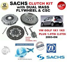 pour VW GOLF 1K1 1K5 PLUS 1.9 2.0 TDI KIT EMBRAYAGE 2003 et avec volant moteur