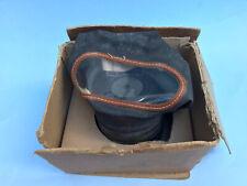 More details for british ww2 home front 1937 civilian respirator with original box size medium