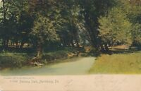 HARRISBURG PA – Paxtang Park Rotograph Postcard – udb (pre 1908)