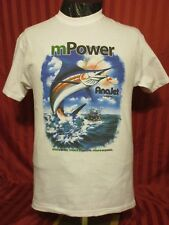 Sport Fishing Boat M Power Anajet Imagine Marlin On The Line T Shirt Sz M