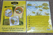 JEJE SANDY ART 3D Creative with Sand 3 Cards + env 3 bags sand Decoupage 1.9101