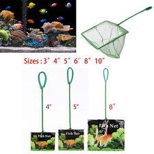 "3""/4""/5""/6 ""/8""/10"" Aquarium Fish Tank Net Small Big Fishes Tropical Cold Water"
