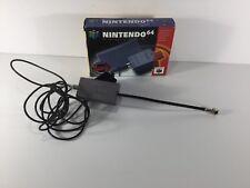 OFFICIAL OEM RF ADAPTER Switch Module Kit Nintendo 64 N64 CIB Complete