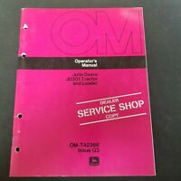 John Deere JD301 Tractor and Loader Operator's Manual OM-T42366 Issue G3