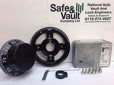 Sargent (S&G) 3 Wheel Combination Lock Set 6642 Class B Black Dial