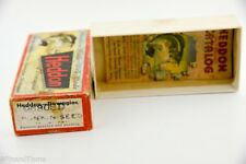Heddon Punkinseed Vintage Empty Lure Box & Catalog 9630 Shad