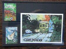 Grenada 1984 Ausipex International Stamp Exhibition set & Miniature Sheet MNH