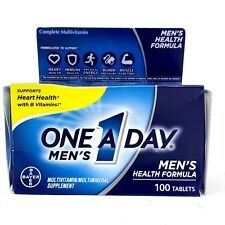 One A Day Complete Men's Health Formula Multivitamin 100 Tablets - NEW SEALED