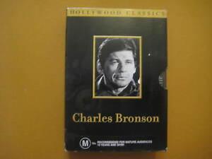 CHARLES BRONSON - RARE USA 3 x DVD BOX SET - 6 Movies - ALL Region
