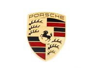 Genuine PORSCHE Front Bonnet Center Boot Crest Badge Emblem 99655921101