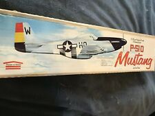 House Of Balsa 1/2A P51d Mustang 36in Wing Span . Plans/templates/manual