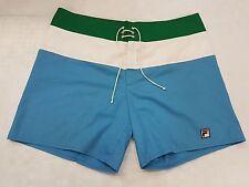 Pantaloncino Fila Cotone sprinter Shiny Shorts glanz pants 196 vintage tg 52