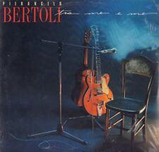 """PIERANGELO BERTOLI """" TRA ME E ME """"LP SIGILLATO CGD 1988 PRIMA EDIZIONE RARISSIMO"""