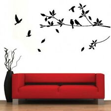 Home Decor Mural DIY Bird Tree Branch Removable Wall Art Stickers Vinyl Decals