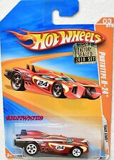 HOT WHEELS 2010 TRACK STARS PROTOTYPE H-24 #03/12 RED FACTORY SEALED