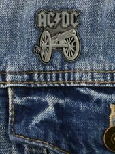 More details for ac/dc badge for those about to rock enamel pin