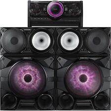 "Samsung MX-HS7000 2300W Giga Sound System 12"" Woofers w/ Bluetooth USB & CD NEW!"