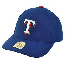 new arrival 2efc0 ad4d2 MLB  47 Brand Youth Texas Rangers Adjustable Boys Blue Hat Cap Baseball