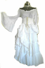 Renaissance Dress Costume Wedding Gown Corset Chemise Pirate Medieval Pirate