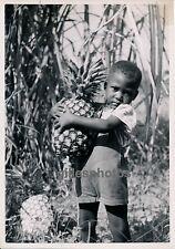 MOYEN-CONGO c. 1940 - Enfant et Ananas - PA47