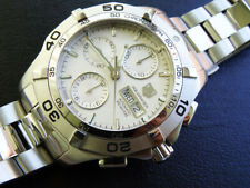 MEN'S  TAG HEUER  AQUARACER  CHRONOGRAPH  AUTOMATIC  CAF 2011   DAY  DATE