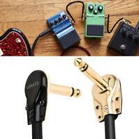 """LEKATO 2.36"""" 6cm Length 1/4"""" Plug 6PCS Guitar Patch Cables Effects Pedals Cables"""