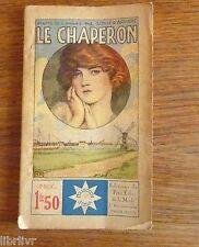 LE CHAPERON  par Willamson  Col. STELLA petit écho de la mode n° 63 années 20