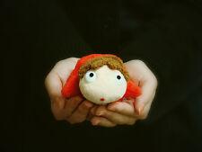 PONYO Plush Doll Ponyo on A Cliff by The Sea Soft Plush Toy NWT