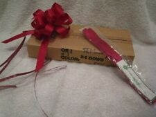 Gift Wrap Box of 40 Butterfly Pull bows Fuchsia Pink
