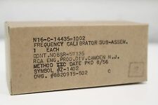 New RCA N16-C-14435-1002 Frequency Calibrator Sub-Assembly Z-1402 8820919-502