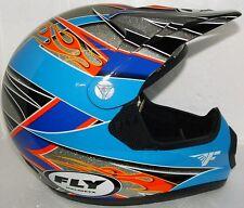 FLY HELMET Adult SM OFF ROAD ATV BMX GOKART RACING SNELL TIM FERRY 2