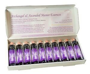 Boxed Set comprising 10 of 10ml Archangel & Ascended Master Essences