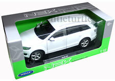 Welly Audi Q7 SUV 1:18 Diecast White 18032