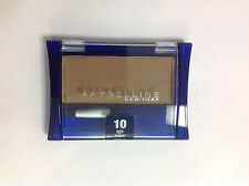 Maybelline Ultra Brow Brush-On Color LIGHT BROWN #10 UNCARDED NEW.