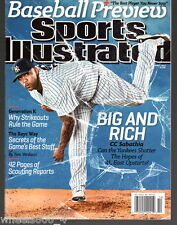 Sports Illustrated 2013 New York Yankees CC Sabathia Newsstand Issue NR/Mint