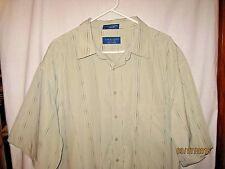 Towncraft NWT Size 2XLT Short Sleeve Button Up Shirt