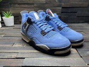 Nike Air Jordan 4 Retro University Blue GS Size 5Y 408452-400 NEW