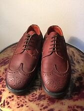 Doctor Martens nos unworn made in England sz4 brown brogues.