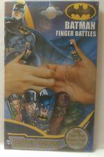 BATMAN 5pc Temporary Tattoos FINGER BATTLES Fun for All Ages