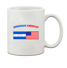 Honduran American Flag Country Ceramic Coffee Tea Mug Cup