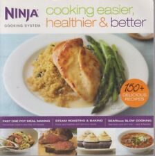 Ninja Cooking System Recipes Cooking Easier, Healthier & Better 9781934193853