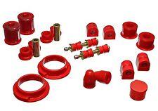 Energy master hyper flex red Suspension Bushing Kit FORD FOCUS 00-04 4.18119R