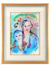 Quadro di Ernesto Treccani, olio su tela