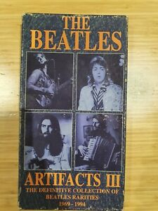 The Beatles Artifacts The Definitive Collection1969-1994 4 CD BOX SET with Book