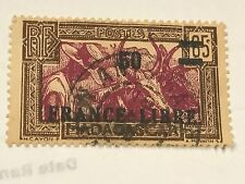 MADAGASCAR Optd France Libre Used LOT D03027