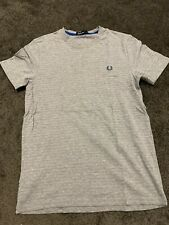 Fred Perry Grey Size S Tee Shirt