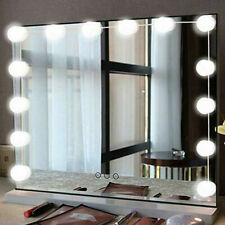 Hollywood Style LED Vanity Mirror Lights Kit for Makeup Dressing 10 Bulbs NEW US