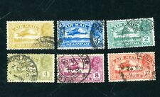 George V, Air Mail stamps of India.